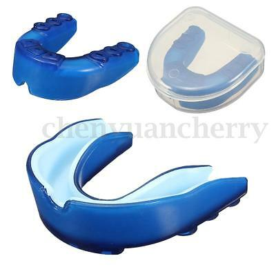 1X Plasticity Gum Shield Mouth Guard Piece Teeth Protector Boxing Basketball NEW