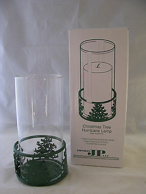 Christmas Tree Hurricane Candle Holder by Waechtersbach NEW