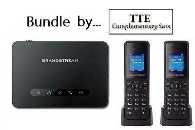 Grandstream DP750 DECT VoIP Base Station + 2ct DP720 DECT Phones