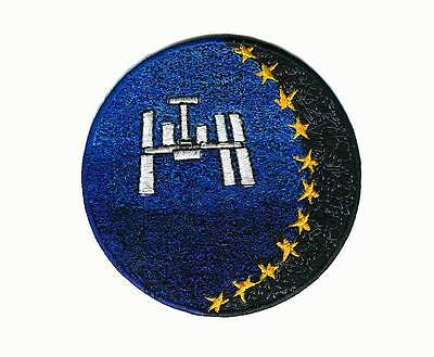 ESA ISS space program patch