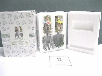 """Charming Tails""""I Dig Being with You""""-Enesco Gardening Tools Figurine NEW#4022443"""