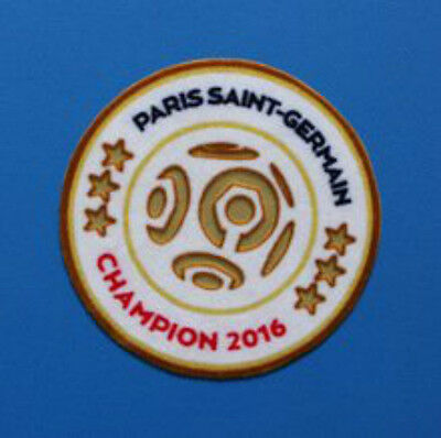 Official France Ligue 1 Champions 6 Stars Patch (For PSG 2016/2017) Soccer Badge