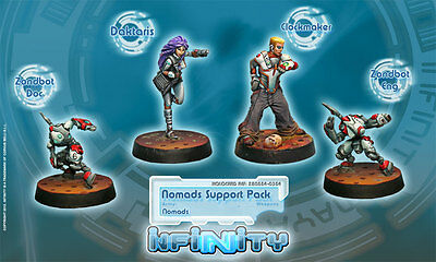 INFINITY - Corvus Belli - NOMADS SUPPORT PACK - NEW