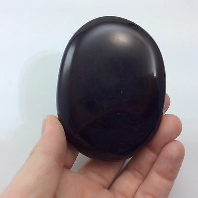 Black Agate Massage Therapy Stone 160705 Protection Strength Metaphysical