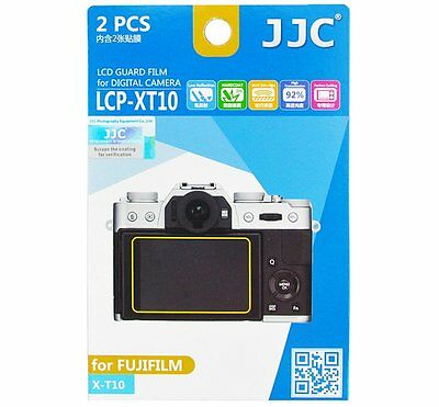 JJC LCP XT10 LCD Guard Film Screen Protector for FUJIFILM X-T10 X-T20_US