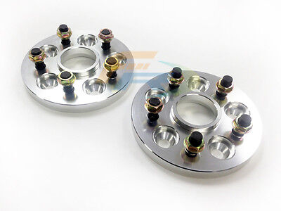 56.1mm Hubcentric Wheel Spacers 4X100, 12X1.5 Thread 20mm  x2