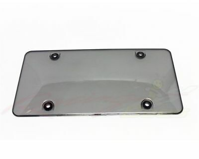 License Plate Frame Smoke Cover, 2pcs fit Canada & USA License plate 862
