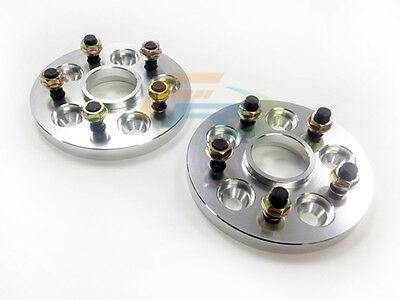 56.1mm Hubcentric Wheel Spacers 4X100, 12X1.5 Thread 15mm  x2