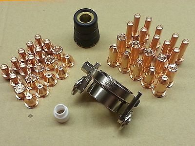 43pc Plasma Torch + Roller Guide Wheel For Cebora CB70 CB-70 P70 Torch *US SHIP*