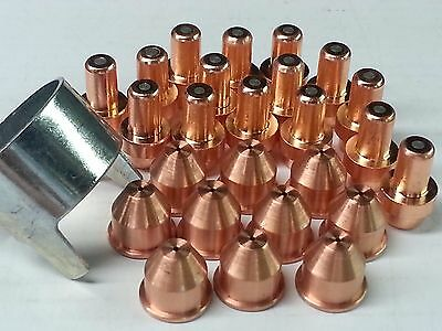 21pc x Nozzles/Electrodes + Standoff For Cebora® CP50 CB50 Plasma Torch *US SHIP