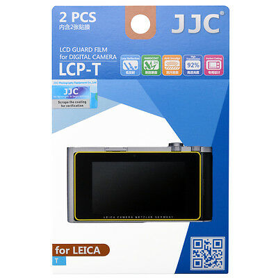 JJC LCP-T LCD Film Camera Screen Display Protector for LEICA T Series_US