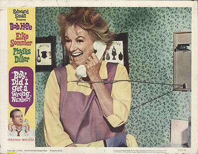 Boy, Did I Get a Wrong Number! 1966 Original Movie Poster Comedy