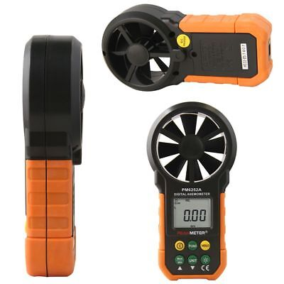 LCD Digital Anemometer Wind Speed Meter Air Flow Velocity Tester Measure AIMO UK
