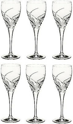 RCR CRYSTAL DA VINCI GROSSETO LARGE WINE GLASSES 32cl (SET OF 6) BRAND NEW