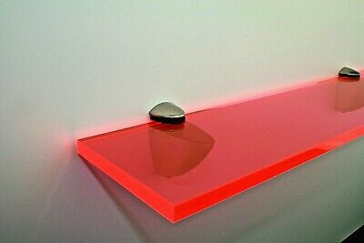 Unique Shelving Perspex Red - 10mm Acrylic