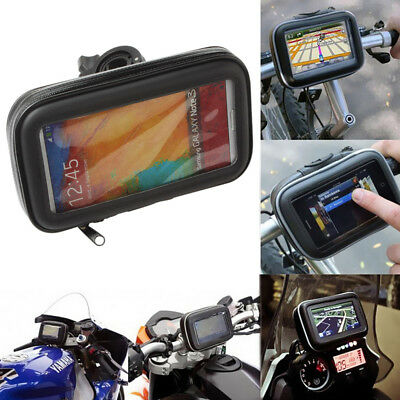 Waterproof Motorbike Bag Pouch Motorcycle Case for 3.5 4.3 5Inch GPS Navigation