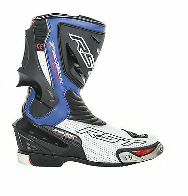 RST Tractech Evo Blue Boots 1516 Size EU 43 (UK 9)    **PRICE £119.99**
