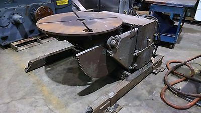As Is Ransome Welding Positioner Model 30-P  3000 lb.