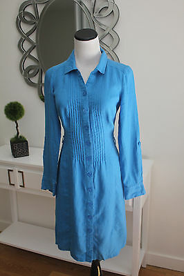a7dcea21fe9 NEW BODEN CASUAL 100% Linen Shirt Dress Size US 2R -  33.90