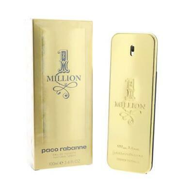 PACO 1 MILLION by Paco Rabanne 3.4 oz EDT Spray NEW in Box for Men