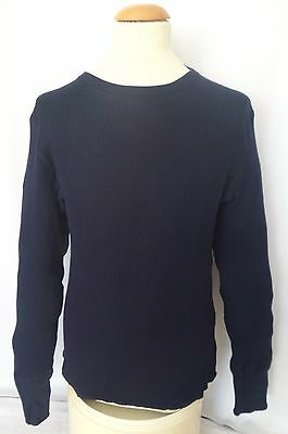 $250 Rare New without tags Tim Hamilton 100% Cotton Blue Sweater *Make An Offer*