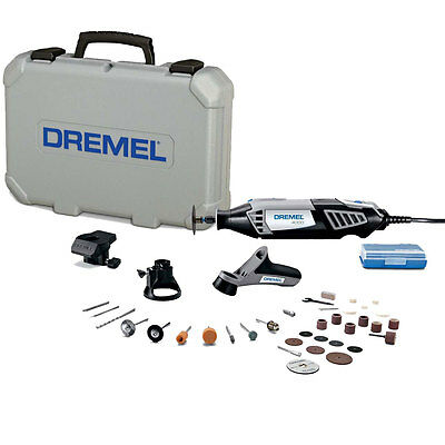Dremel High Performance Variable-Speed Rotary Tool Kit 4000-4/34 New