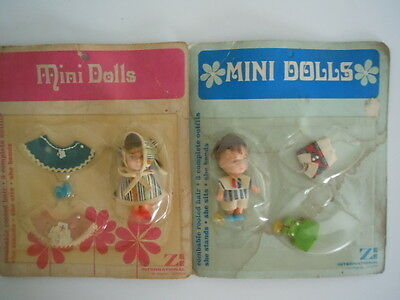 Rare Set Mini Dolls Kiddle Klone / Clone & Accessories: Extra Outfits,shoes,more