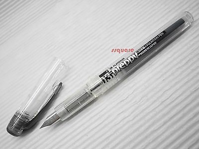 Platinum Preppy PPQ-200 0.3mm Fine Refillable Fountain Pen, Black