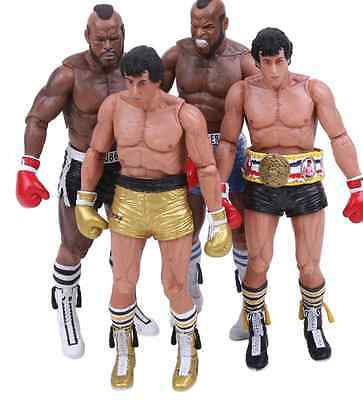 Rocky 3 Rocky Balboa Clubber Lang Action Figure PVC Toy Collectable New
