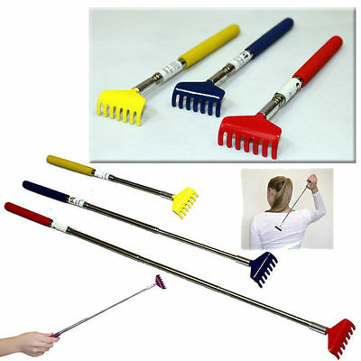 Stylish Latest Claw Telescopic Stainless Back Scratcher Extendable Massager Gift