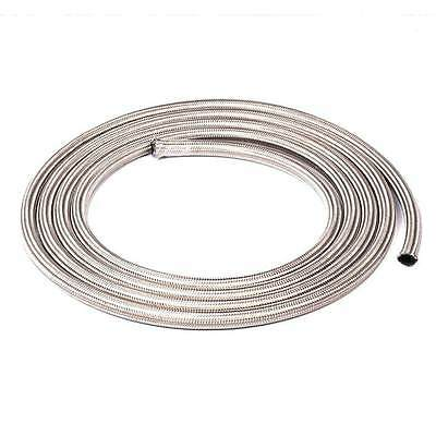 An6 Stainless Steel Braided Oil Fuel Line Hose Sold By Foot 6An 6-An