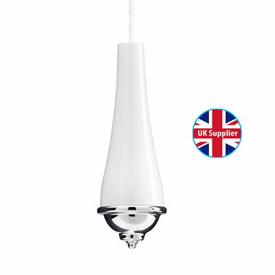 Croydex Classic Light Cord Pull Bathroom / Kitchen (Includes 1 Metre White Cord)
