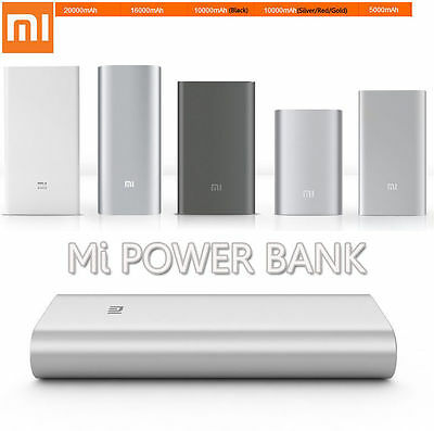 Genuine Xiaomi Mi 16000/20000mAh Power Bank Battery Charger For Samsung iPhone