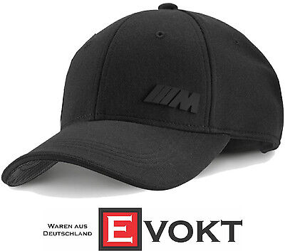 BMW M Performance Black Baseball Cap Unisex Adjustable 80162410914 Genuine  New 7a452863187f