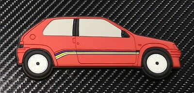 Peugeot 106 Rallye fridge magnets , Cherry Red Phase 1