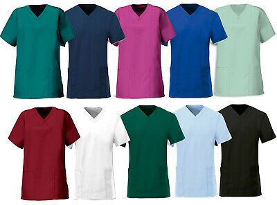 Ladies, Female Fit Scrub Tunic Top For Hospitals, Clinics, Doctors & Healthcare