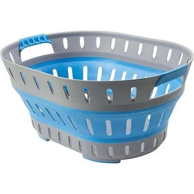 Companion Pop Up Laundry Basket - Blue