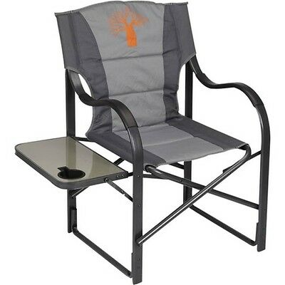 Boab Deluxe Directors Chair - Grey, Alloy Frame, 120kg