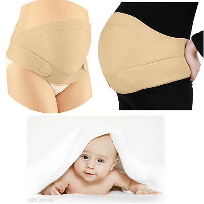 Adjustable Pregnancy Maternity Back Support Belt Bump Belly Waist Baby Strap SOL