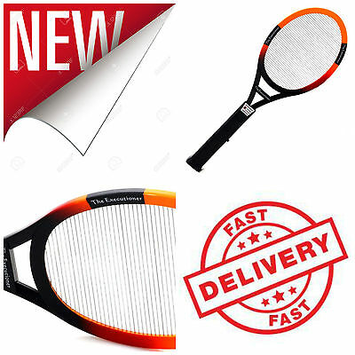 Mosquito Bug Killer Zapper Fly Electric Insect Racket Cordless Battery Wasp Pest