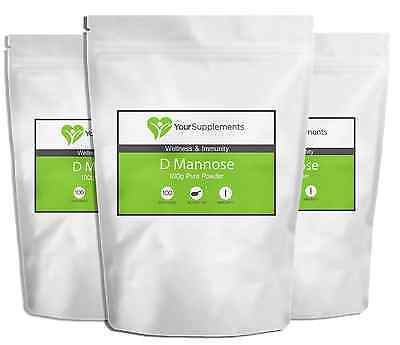 D-Mannose | Powder & Tablets Available | Natural UTI & Bladder Support