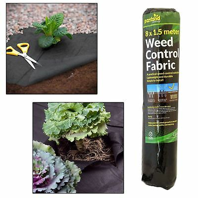 2 x Weed Control Fabric Ground Cover Membrane Landscape Mulch Garden Mats New