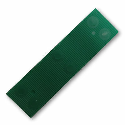 50 ~ 1000 Window Glazing Packers Green 1mm Various Pack Sizes