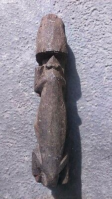 old african statue animal figure