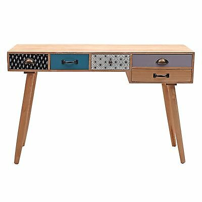 "RETRO DESIGN  BUREAU DESK ""CAPRI"" 