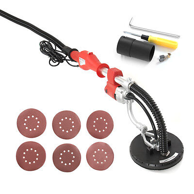 750 Watts Commercial Electric Variable Speed Drywall Sander Free Sanding Pad
