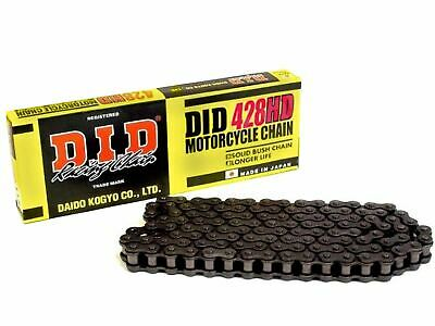 DID Heavy Duty Roller Motorcycle Chain 428HD Pitch 104 Split Link