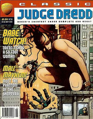Classic Judge Dredd #10 (1996) collects JD strips from progs 491-495