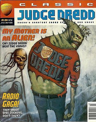 Classic Judge Dredd #12 (1996) collects JD strips from progs 502-507