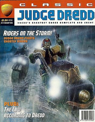 Classic Judge Dredd #7 (1996) collects JD strips from progs 472-477